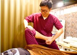 めいほく接骨院北区上飯田院の骨盤矯正プログラム